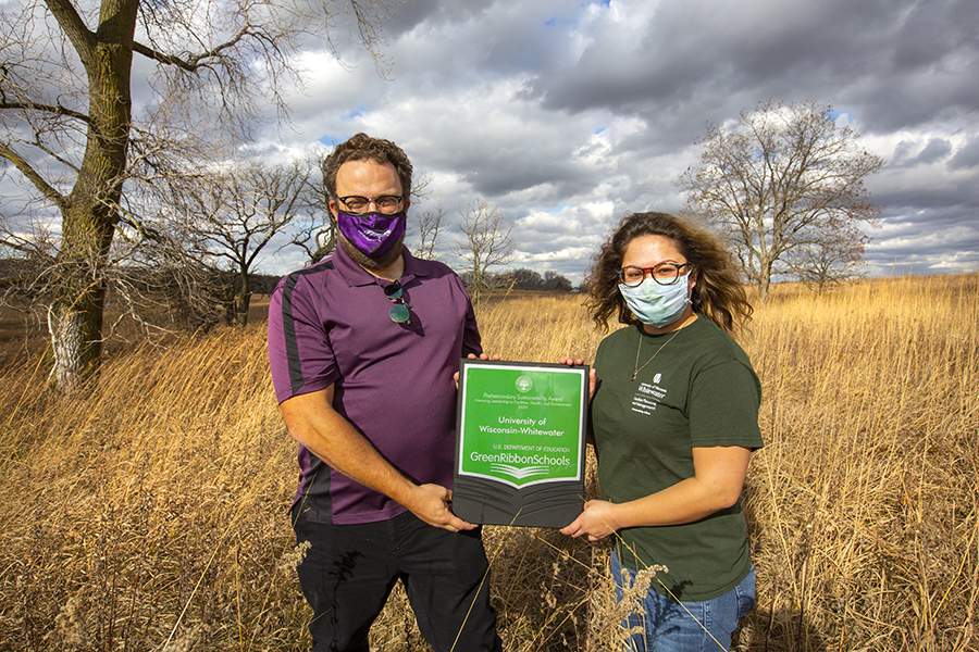 Sustainability efforts win UW-Whitewater national recognition