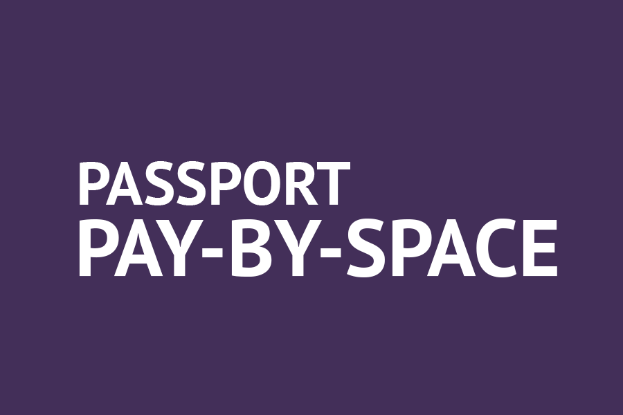 Information about passport pay by space parking