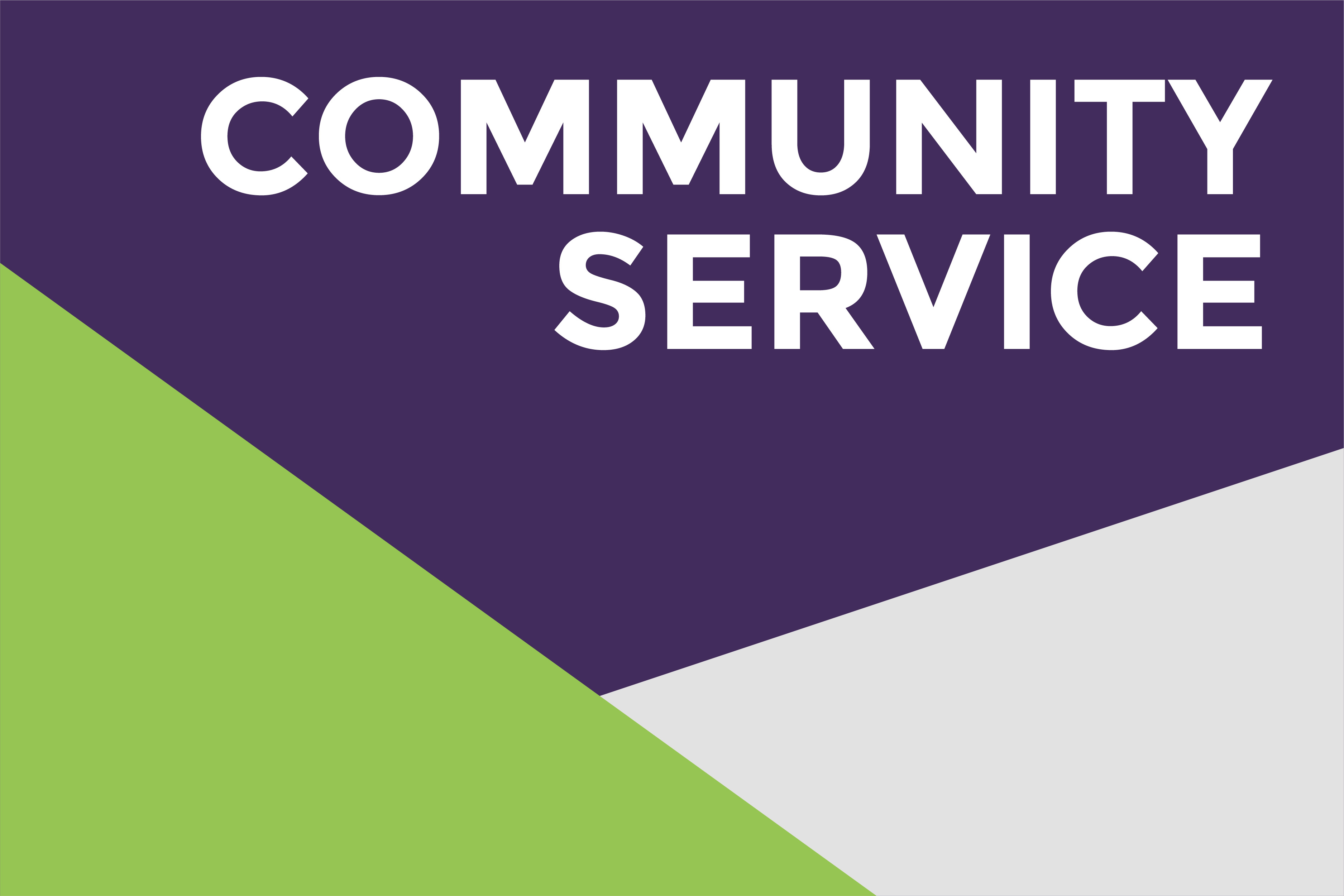 Community Service at UW-Whitewater