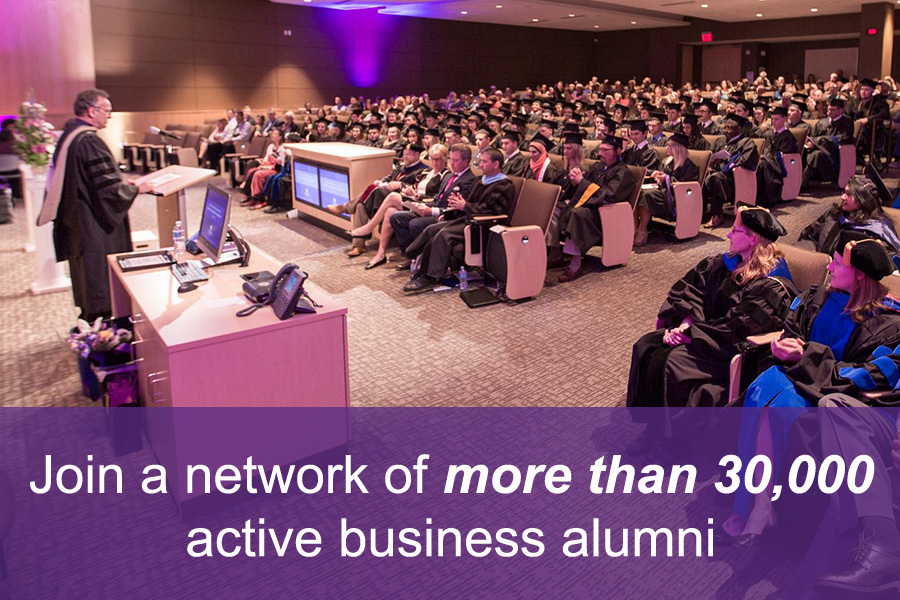 Join a network of over 30,000 active business alumni
