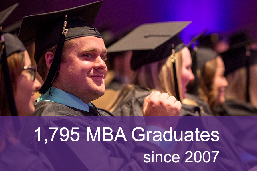 Over 1,795 MBA Program Graduates