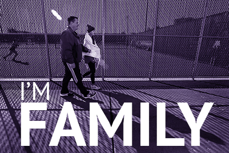 I'm Family: Father and student walk by tennis courts
