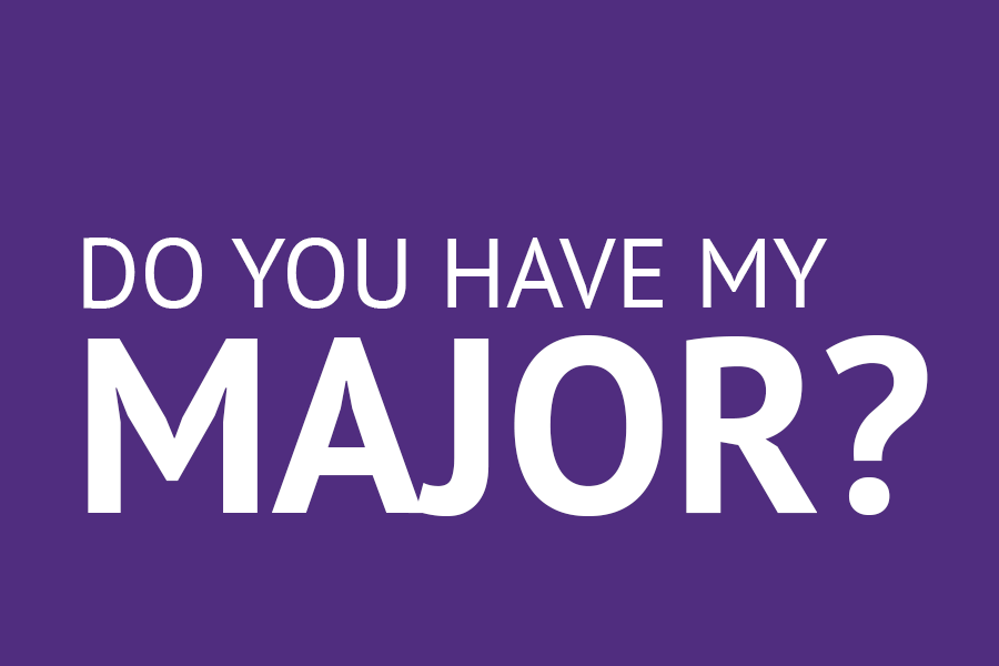 Do you have my major?