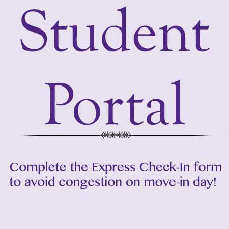 "Bolded Print saying, ""Student Portal"""