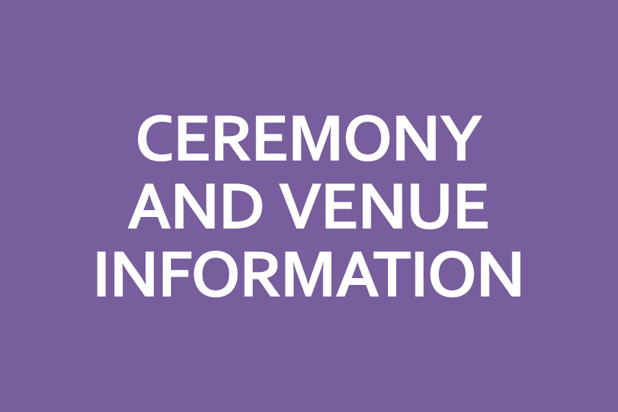 Ceremony and Venue Information