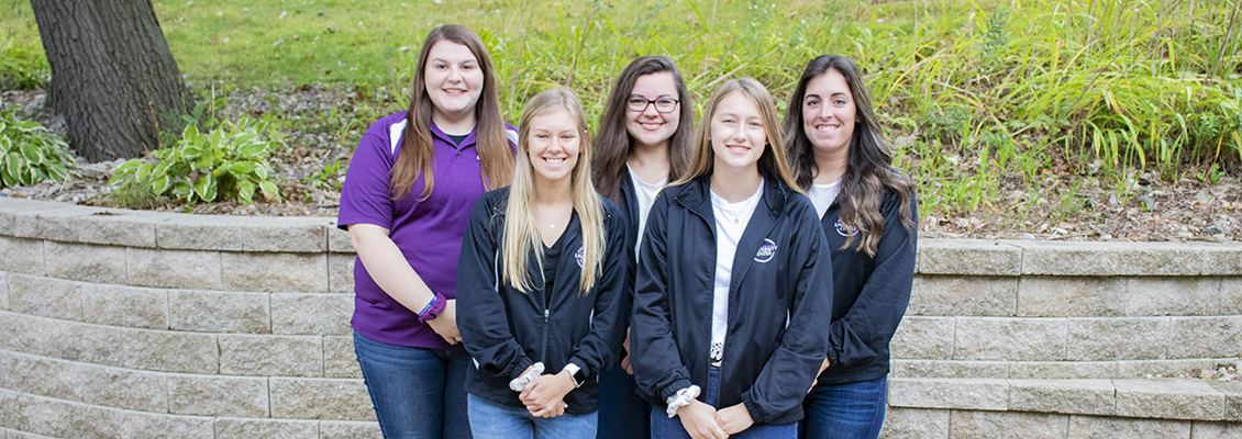 Members of the UW-Whitewater UC Reservations team