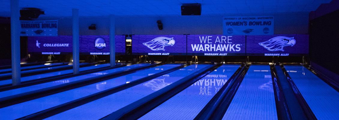 UW-Whitewater Warhawk Alley