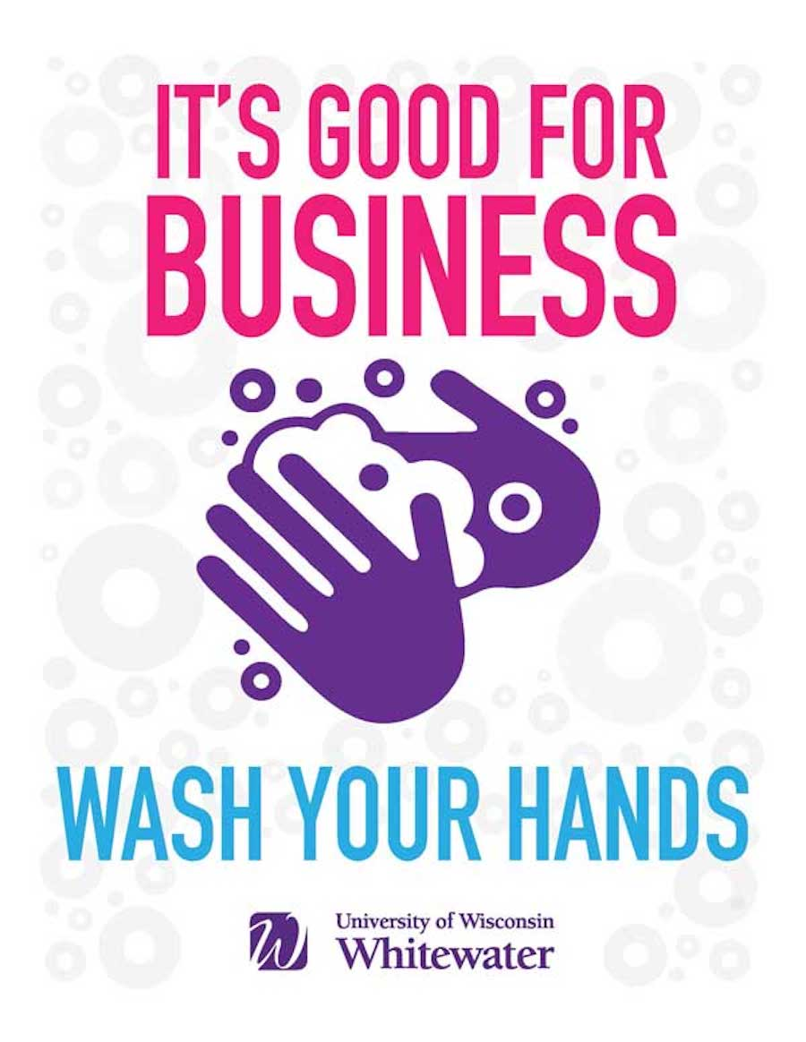 It's good for business, wash your hands