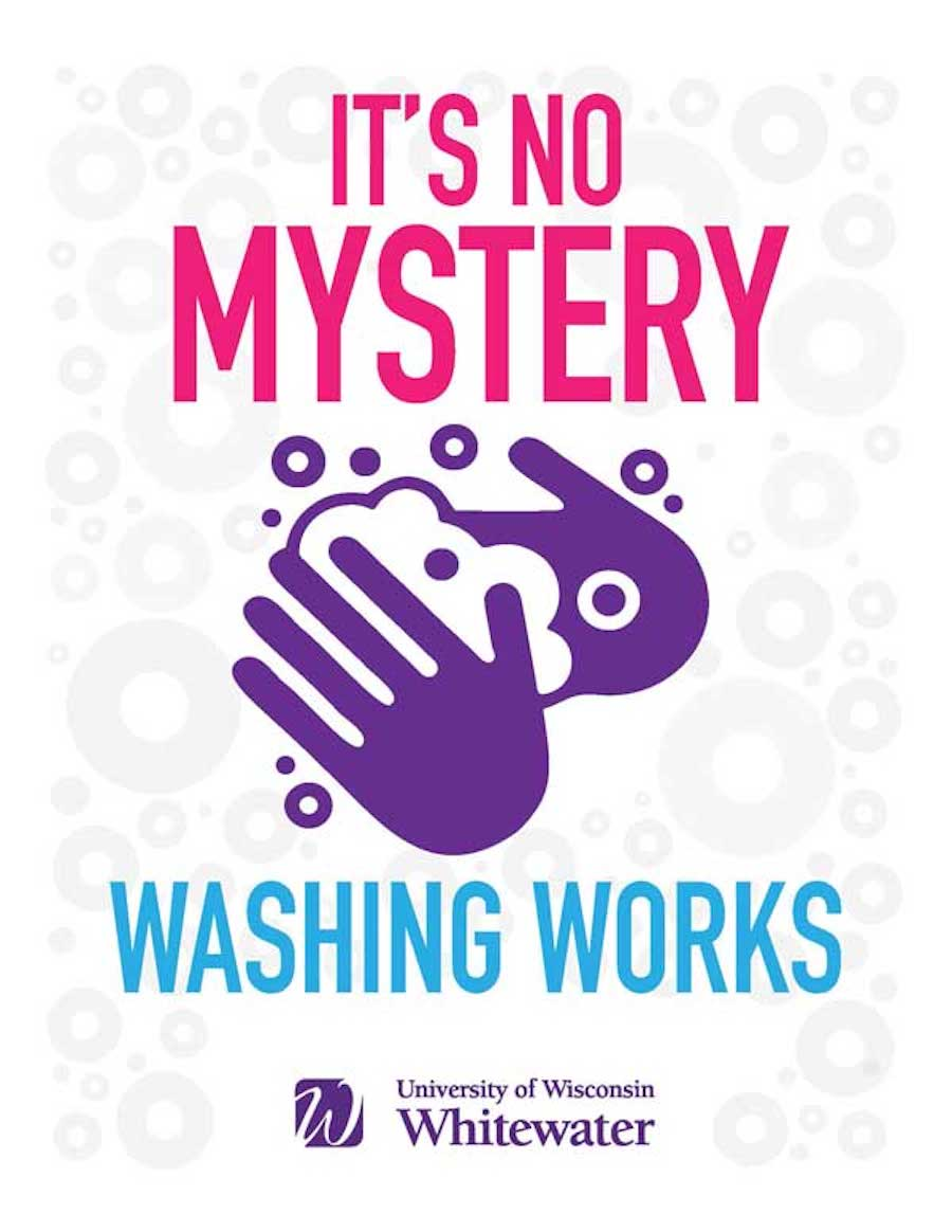 It's no mystery, wash your hands