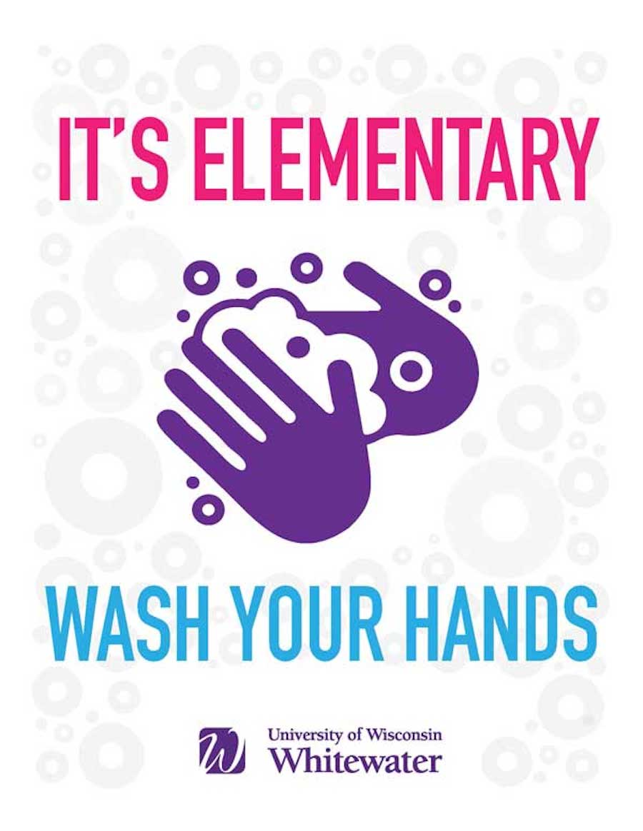 It's elementary, wash your hands
