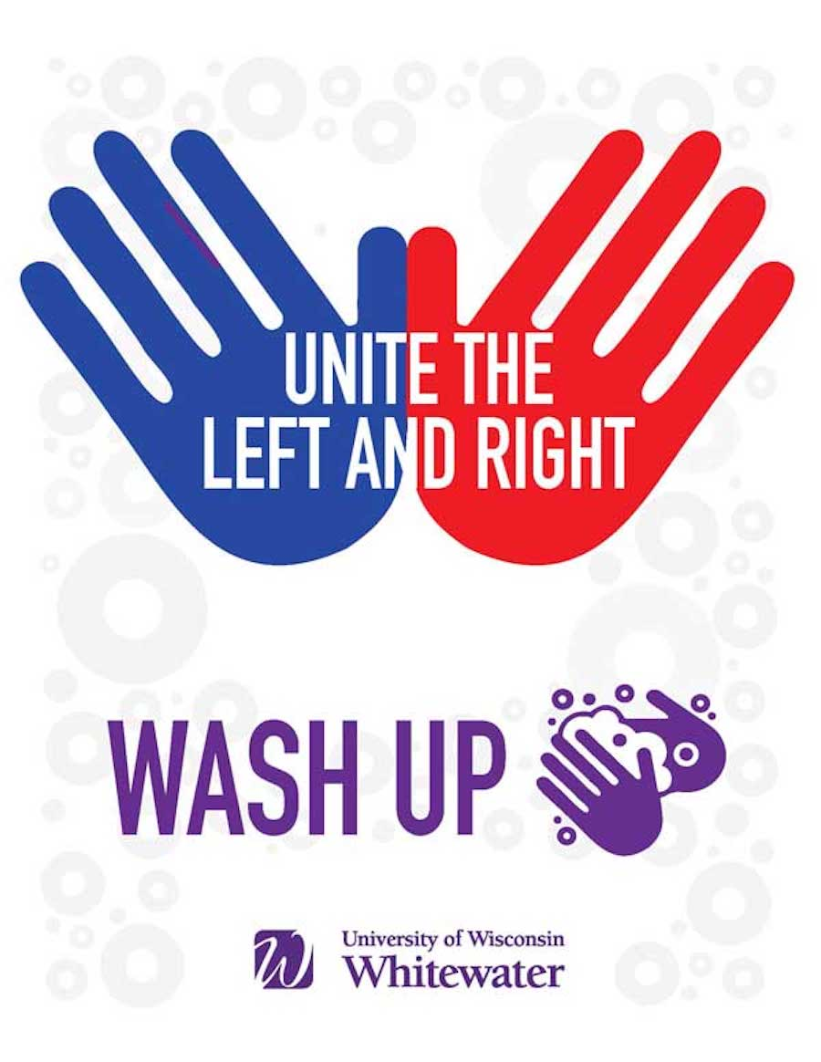 Unite the left and right, wash up